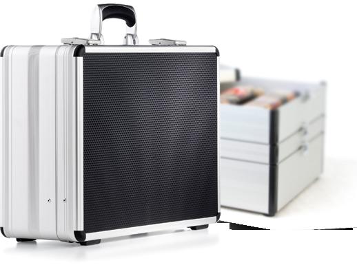 ekskluzywne walizki aluminiowe Mares