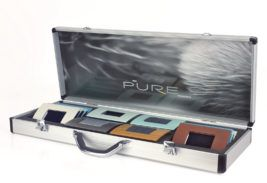 walizka aluminiowa z nadrukiem