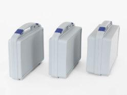 Grubości walizek z tworzywa