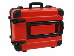 Składany uchwyt walizki GUARDIAN z kółkami