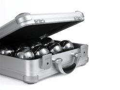 Walizka aluminiowa na kule do gry