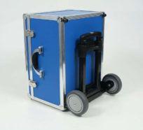 Kufer ALUmaster z wózkiem